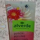 alverde Dusch-Peeling Kokosraspeln Lotusblüte