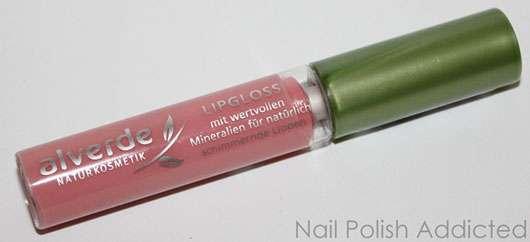 alverde Lipgloss, Farbe: 25 Light Rose