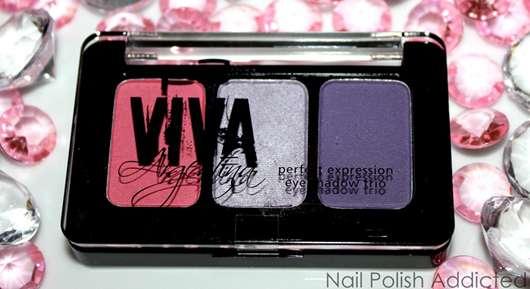 p2 viva argentina perfect expression eyeshadow trio, Farbe: te quiero!