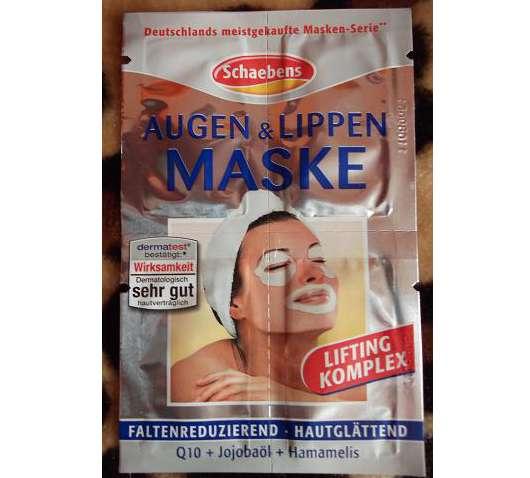 Schaebens Augen & Lippen Maske