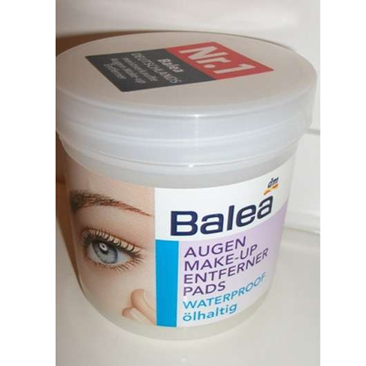 Außergewöhnlich Test - Augen Make-up Entferner - Balea Augen Make-up Entferner @DF_84
