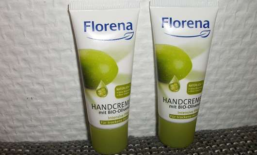 Florena Handcreme mit Bio-Olivenöl