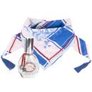 Stylishes Oilily Blue Sparkle Bandana-Set