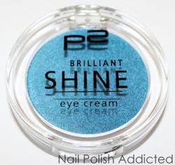 Produktbild zu p2 cosmetics brilliant shine eye cream – Farbe: 060 bombastic blue