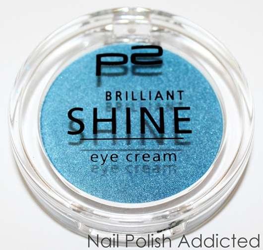 p2 brilliant shine eye cream, Farbe: 060 bombastic blue