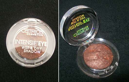 Catrice Intensif' Eye Wet & Dry Shadow, Farbe: 020 Charly's Chocolate Factory