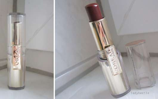 L'Oréal Paris Rouge Caresse Lipstick, Farbe: 602 Irresistible Expresso