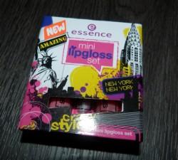 Produktbild zu essence mini lipgloss set – Farbe: 03 big apple style