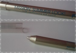 Produktbild zu p2 cosmetics mission summer look! high performing eye pencil – Farbe: 020 luxury gold (LE)