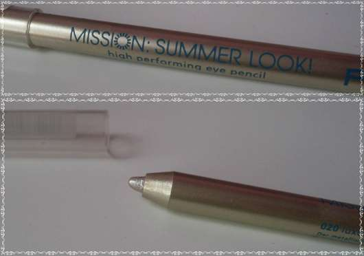 p2 mission summer look! high performing eye pencil, Farbe: 020 luxury gold (LE)