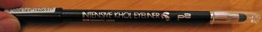 p2 intensive khol eyeliner, Farbe: 010 dramatic Japan