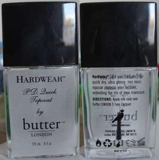 butter London Hardwear P.D. Quick Topcoat - Pinkmelon