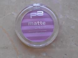 Produktbild zu p2 cosmetics matte dream eye shadow – Farbe: 100 lilac desire
