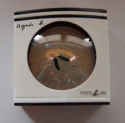 Produktbild zu agnès b. Monobulle Lidschatten Strass-Effekte – Farbe: lumière argent (LE)