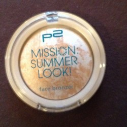 Produktbild zu p2 cosmetics mission summer look! face bronzer – Farbe: 010 ivory bronze (LE)