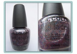 Produktbild zu L.A. Colors Nail Lacquer With Hardeners – Farbe: NP263 Rainbow Glitter