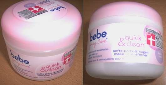 bebe Young Care quick & clean softe pads & augen make-up entferner
