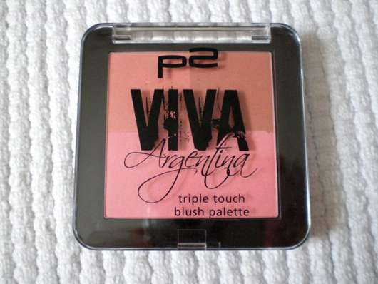 test rouge blush p2 viva argentina triple touch blush palette farbe 010 chica guapa le. Black Bedroom Furniture Sets. Home Design Ideas
