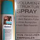 Balea Professional Volumen + Struktur Spray