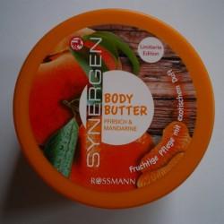 Produktbild zu Synergen Body Butter Pfirsich & Mandarine (LE)