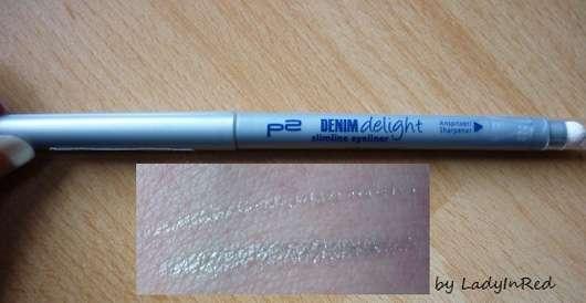 p2 denim delight slimline eyeliner, Farbe: 010 silver mist (LE)