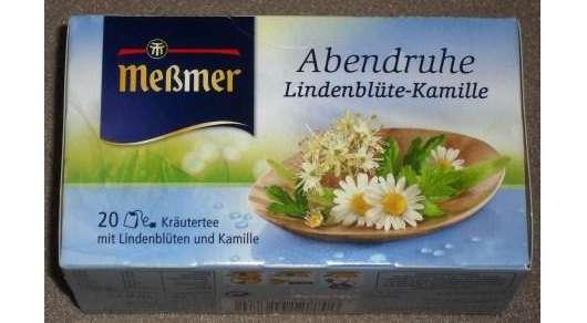 <strong>Meßmer</strong> Abendruhe Lindenblüte-Kamille