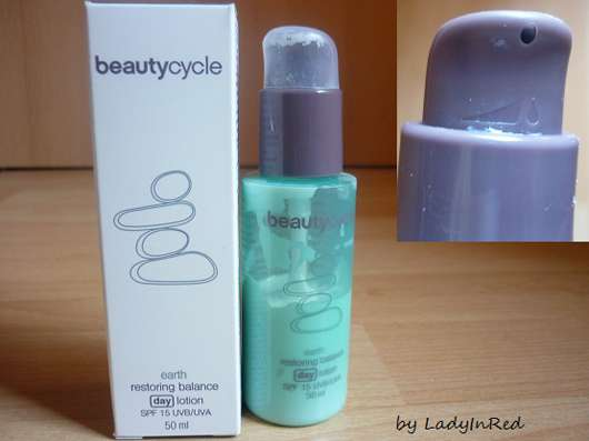 beautycycle earth restoring balance day lotion