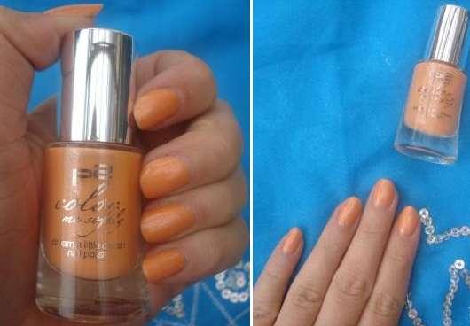 p2 color me softly dream a little dream nail polish, Farbe: 020 pearly orange (LE)