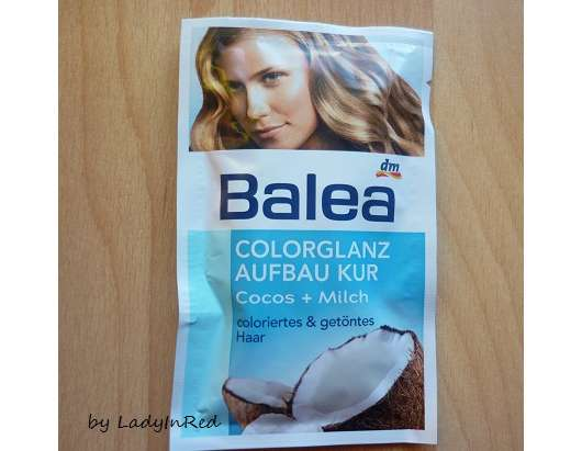 Balea Colorglanz Aufbaukur Cocos + Milch