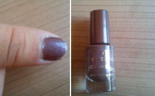 essence colour & go quick drying nail polish, Farbe: 73 princess prunella