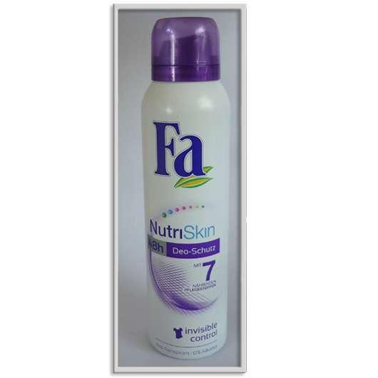 Fa NutriSkin invisible control Anti-Transpirant Spray