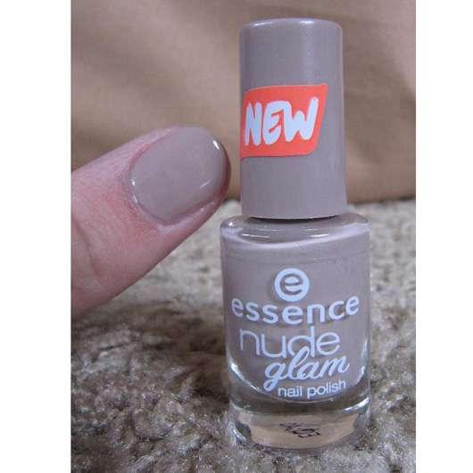 essence nude glam nail polish, Farbe: 07 café olé