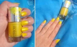 Produktbild zu Catrice Ultimate Nail Lacquer – Farbe: C02 Twist of Lemon (Colibri LE)