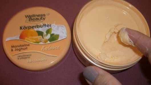 Wellness & Beauty Körperbutter Mandarine & Joghurt