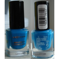 Produktbild zu Max Factor Mini Nail Polish – Farbe: 35 candy blue