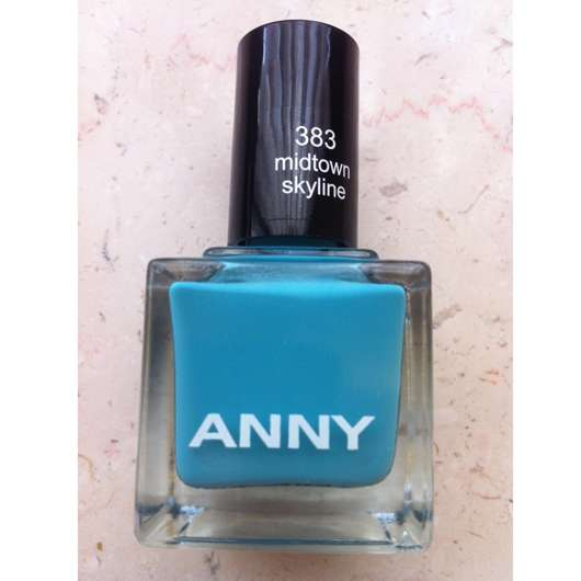 ANNY Nagellack, Farbe: 383 midtown skyline (FAMOUS RUN IN CENTRAL PARK LE)