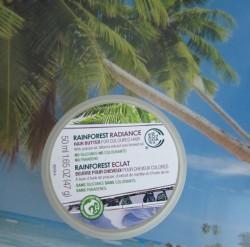 Produktbild zu The Body Shop Rainforest Radiance Hair Butter For Coloured Hair