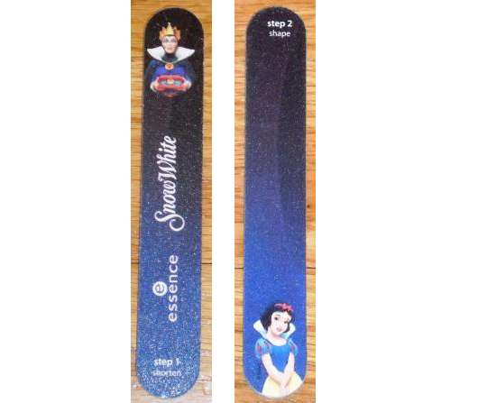 essence snow white nail file (LE)