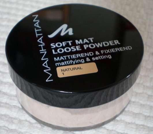 Test Puder Manhattan Soft Mat Loose Powder Farbe 1