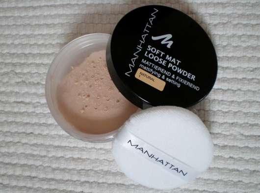 Manhattan Soft Mat Loose Powder, Farbe: 1 Natural