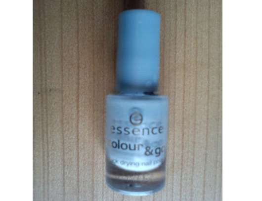 essence colour & go quick drying nail polish, Farbe: 74 sure azure