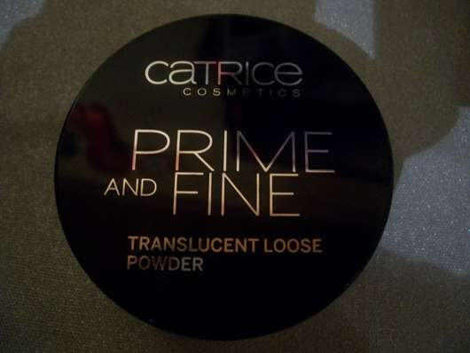 Catrice Prime And Fine Transculent Loose Powder