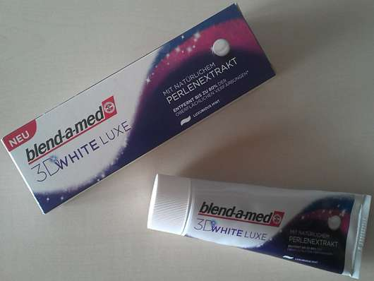 blend-a-med 3D White Luxe Zahncreme