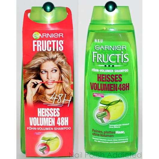 Garnier Fructis Föhn-Volumen Shampoo Heisses Volumen 48H