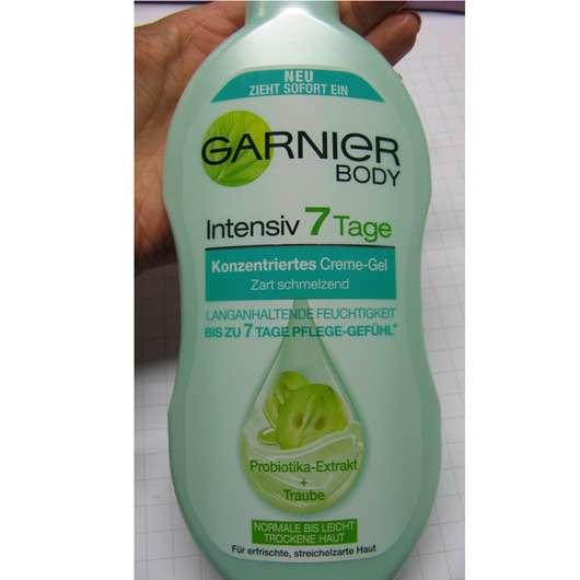 Garnier Body Intensiv 7 Tage Konzentriertes Creme-Gel Probiotika-Extrakt + Traube
