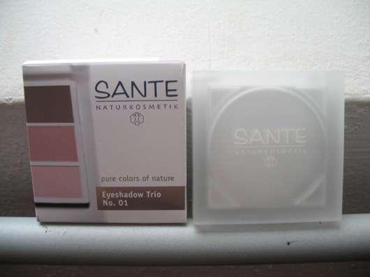 SANTE Eyeshadow Trio, Farbe: 01 Rose