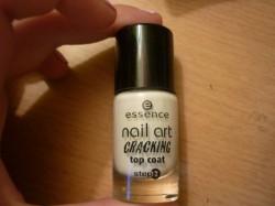 Produktbild zu essence nail art cracking top coat – Farbe: 02 crack me! white
