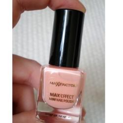 Produktbild zu Max Factor Max Effect Mini Nail Polish – Farbe: 28 Pretty in Pink