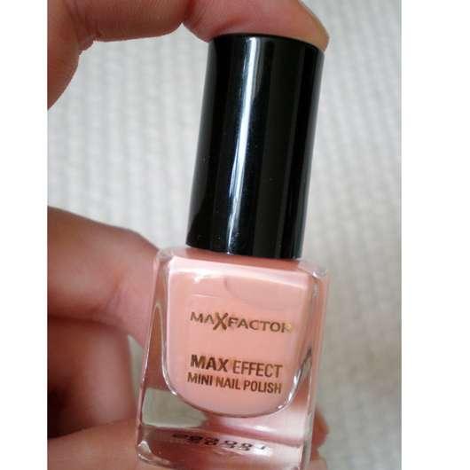 Pink Nail Polish Mini: Max Factor Max Effect Mini Nail Polish