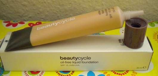 beautycycle oil-free liquid foundation, Nuance: light 30
